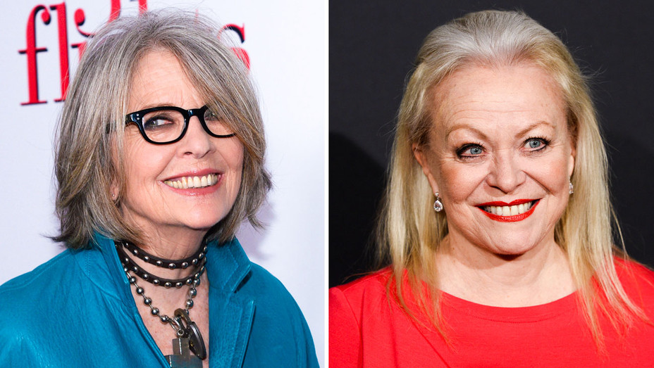 Diane Keaton and Jacki Weaver - Split - Getty - H 2017