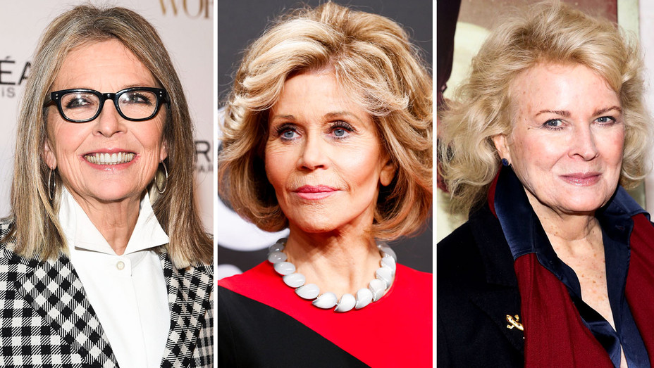 Diane Keaton, Jane Fonda and Candice Bergen - Split - Getty - H 2017