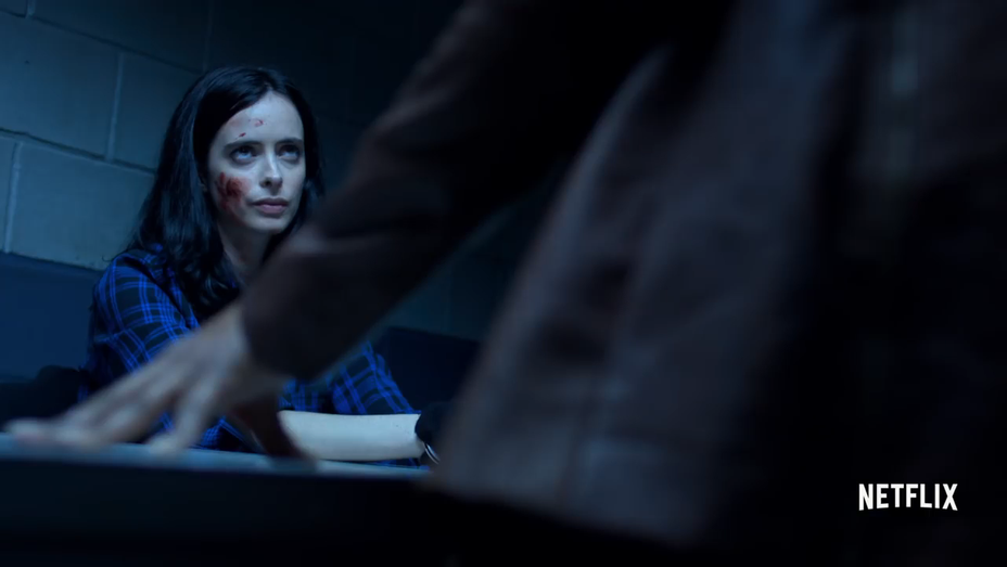 Krysten Ritter - The Defenders Trailer Still - H 2017
