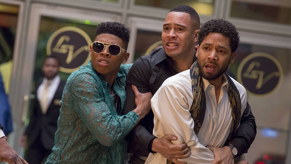 Empire Still Bryshere Gray, Trai Byers and Jussie Smollett - Publicity - H 2017