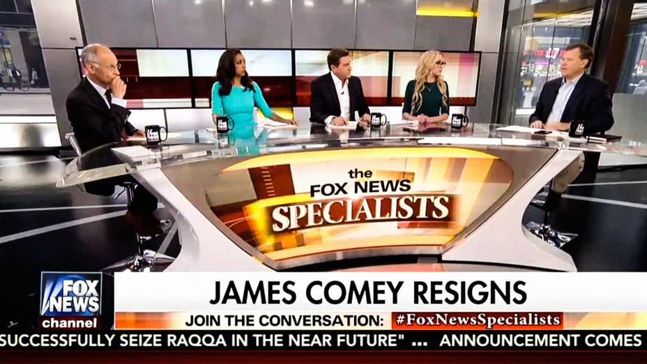 Fox News James Comey Resignation - Screenshot - H 2017