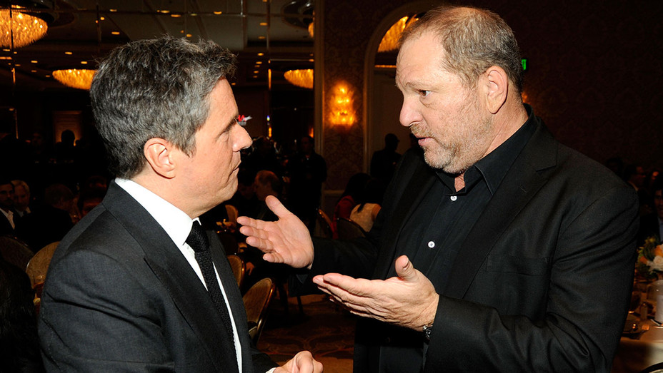 Brad Grey and Producer Harvey Weinstein attend the 12th Annual AFI Awards -Getty-H 2017