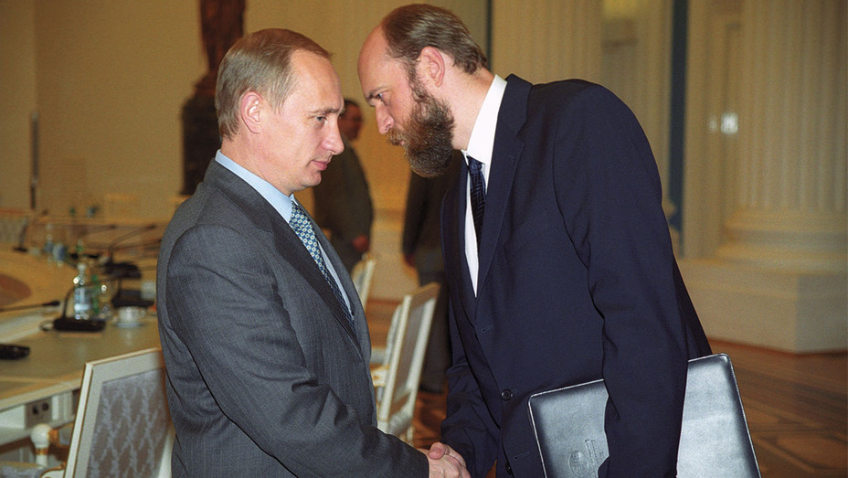 Vladimir Putin and Sergei Pugachev - One Time Use Only - Getty - H 2017