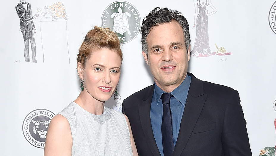 Mark Ruffalo and Sunrise Coigny -red carpet -  2017 Turtle Ball  -Getty-H 2017