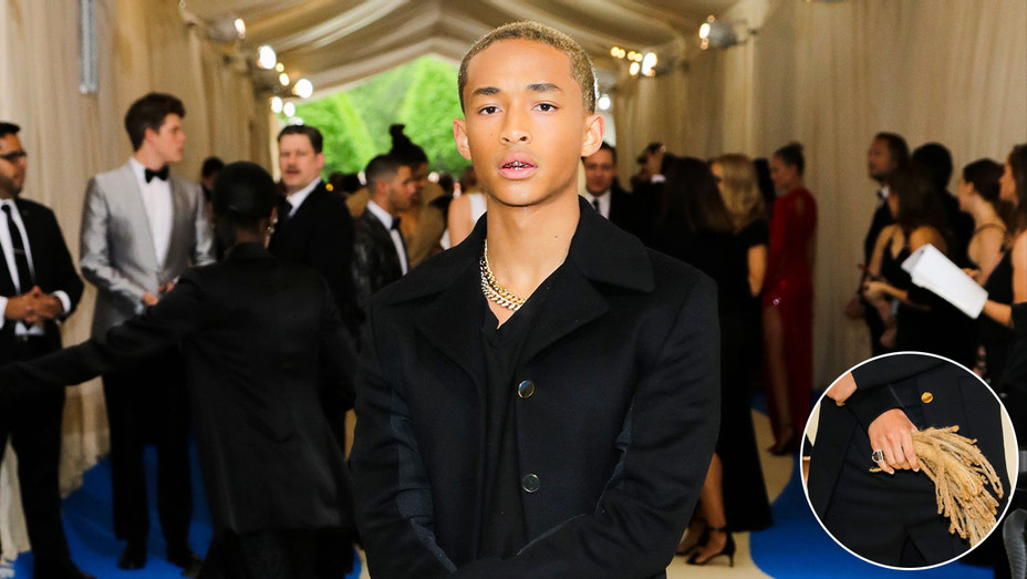 Jaden Smith - Met Gala Hair - Inset - H 2017