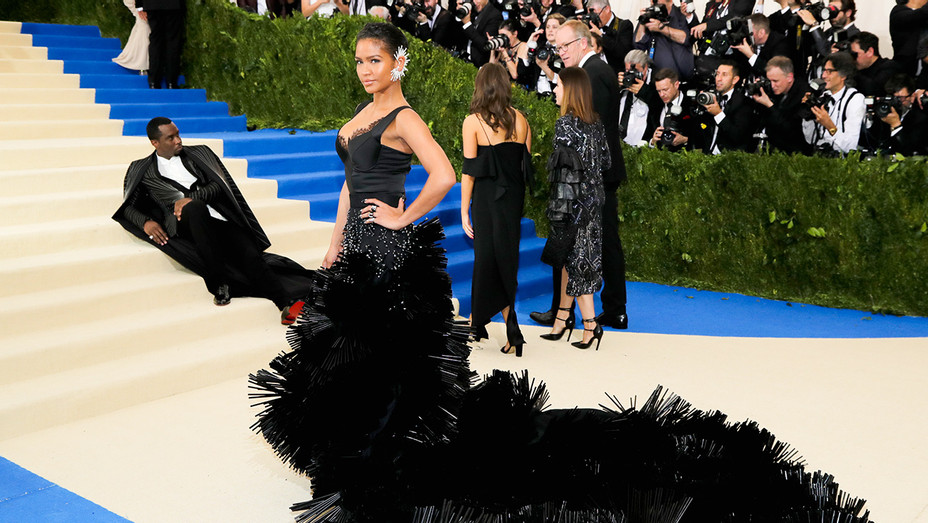 Cassie and Diddy Met Gala - Getty - H 2017