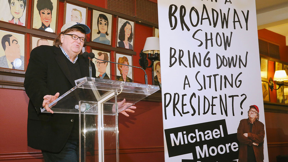 Michael Moore announces his upcoming play The Terms of My Surrender- Getty-H 2017