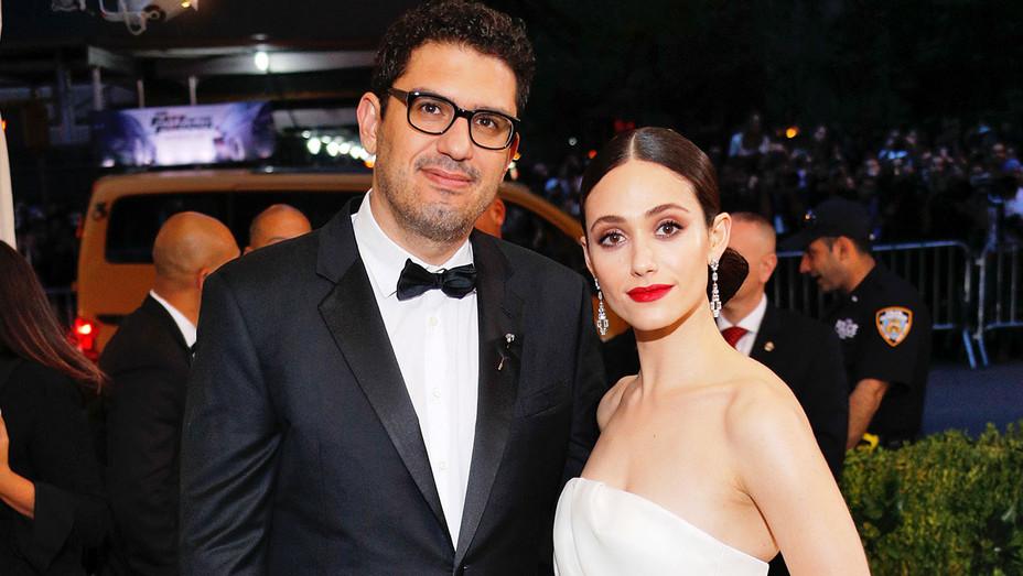 Sam Esmail and Emmy Rossum - MET gala 2017- H 2017