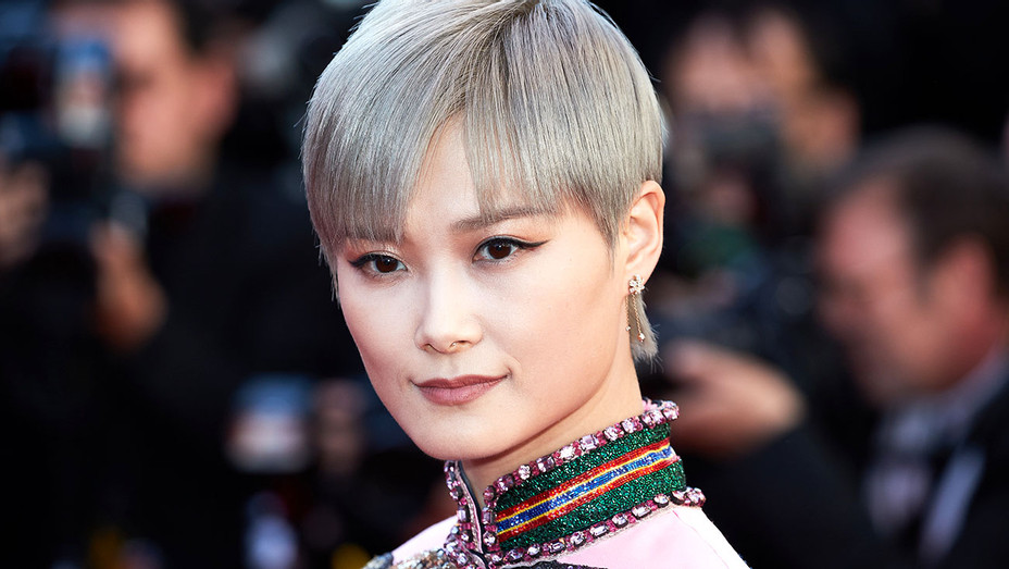 Li Yuchun attends the Okja screening at Cannes- Getty -H 2017