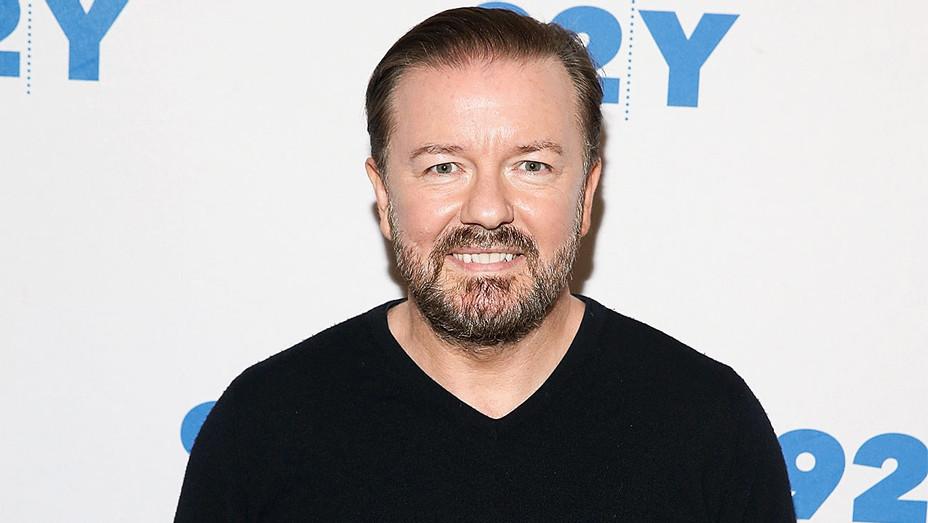 Ricky Gervais - THR 92Y Talk - Getty - H 2017