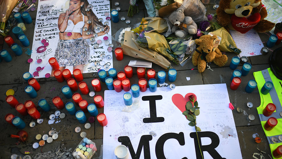 MANCHESTER - Tributes left in St Ann's Square -  May 26, 2017 -Getty-H 2017