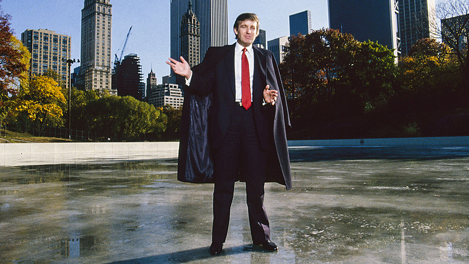 Donald Trump Central Park Wollman Rink 1986 - One Time Use Only - Getty - H 2017