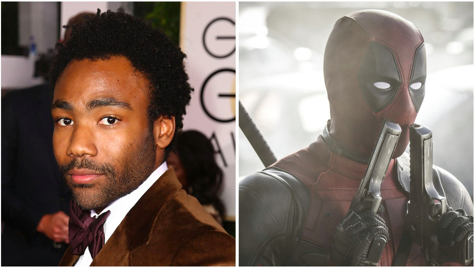 Donald Glover Deadpool Split - H 2017