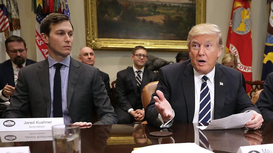 Jared Kushner and Donald Trump - Getty - H 2017