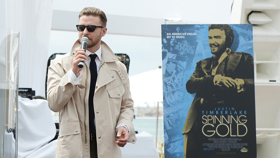 Justin Timberlake Spinning Gold Cannes 2013 Getty H 2017