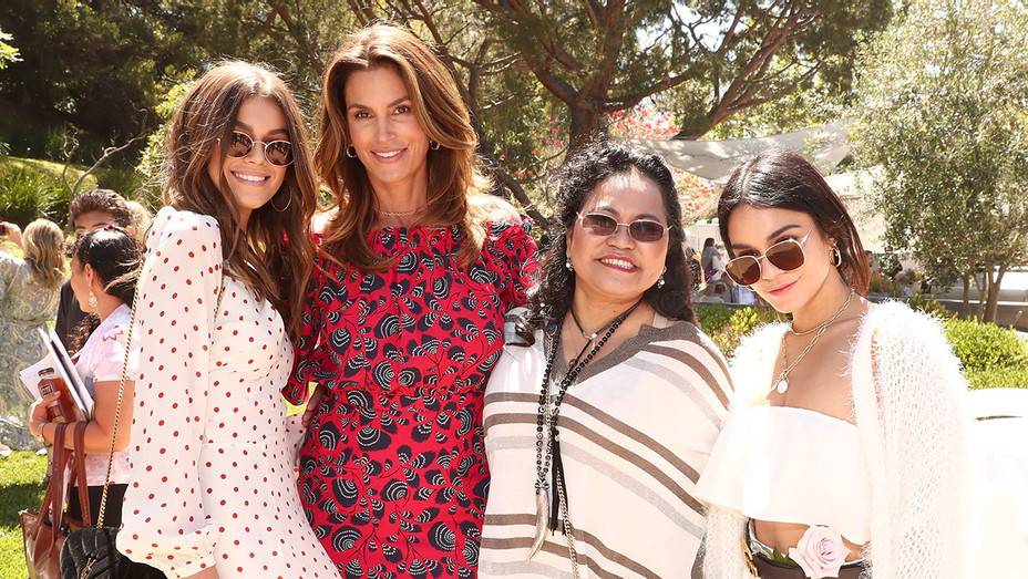 Kaia Gerber, Cindy Crawford, Gina Guangco and Vanessa Hudgens_Best Buddies Lunch - Getty - H 2017