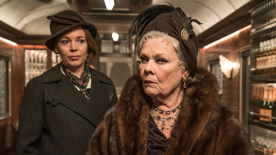 Murder on the Orient Express Still Olivia Colman and Judi Dench - Publicity - H 2017