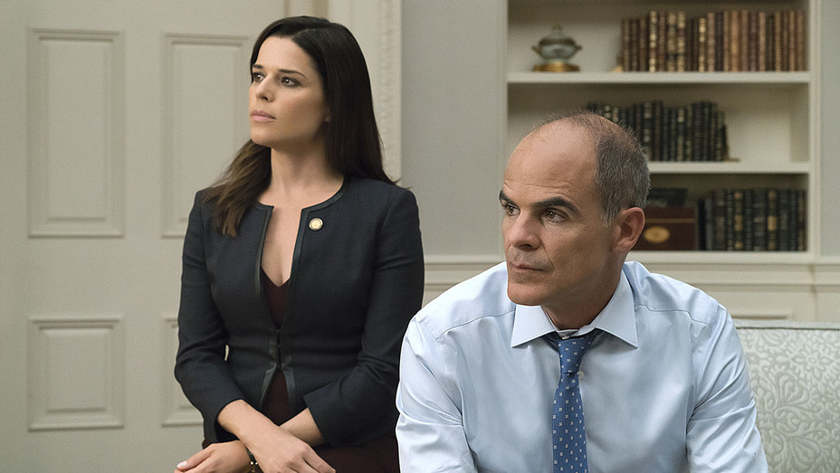 House of Cards - 1-Michael Kelly and Neve Campbell- Publicity-H 2017