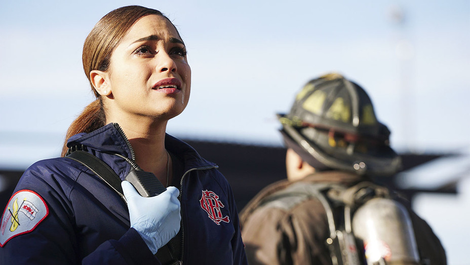 Chicago Fire Still Monica Raymund - Publicity - H 2017