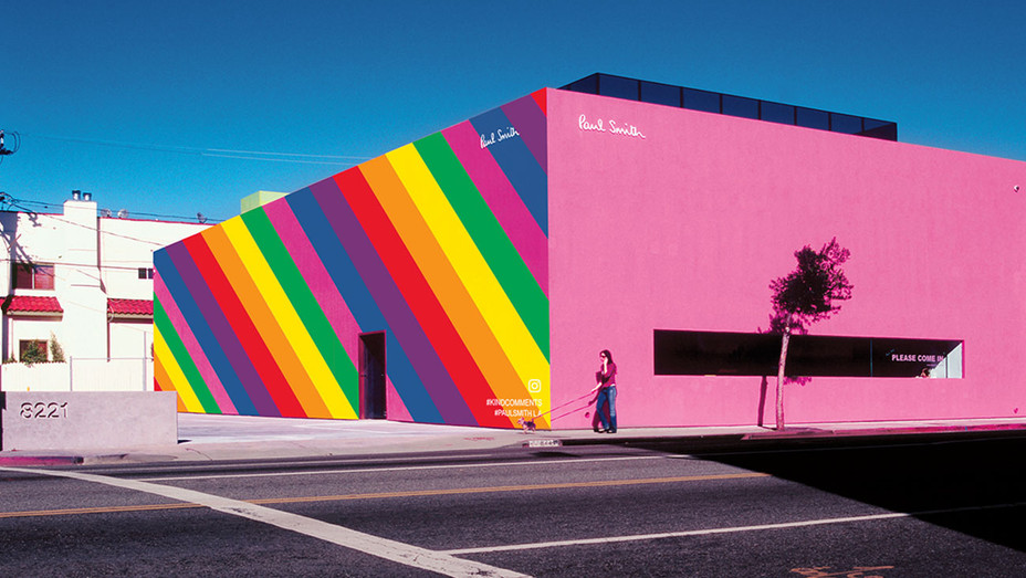 Paul Smith Melrose Boutique Rainbow - Publicity - H 2017