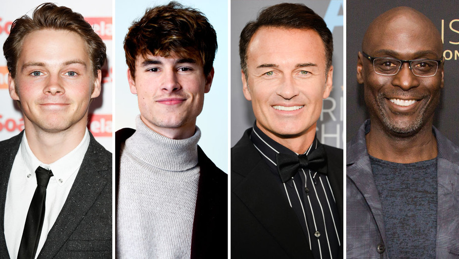 Sam Strike, Kian Lawley, Julian McMahon, Lance Reddick - Split - Getty - H 2017