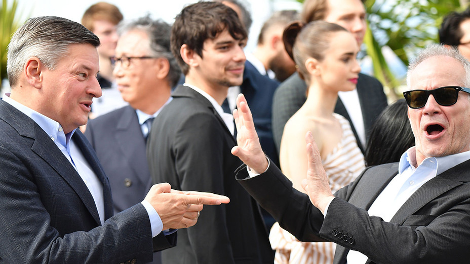 Ted Sarandos Thierry Fremaux Getty - H 2017