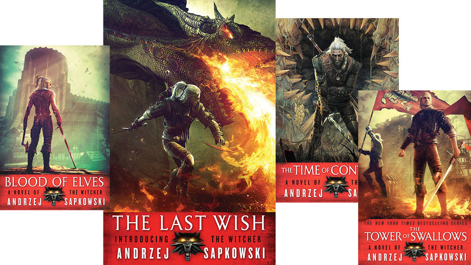 The Witcher -Andrzej Sapkowski's fantasy franchise - Book Covers-Publicity-H 2017