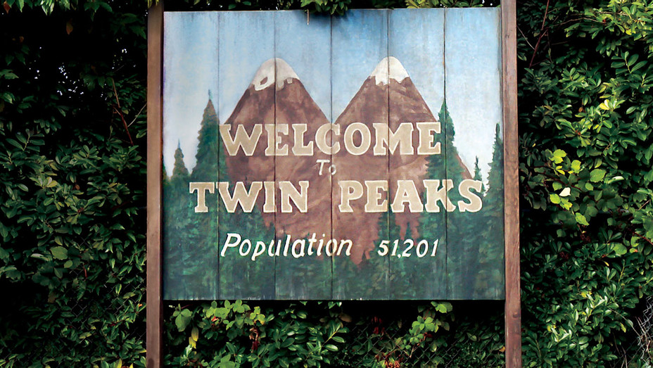 Twin Peaks -Sign - Publicity - H 2017