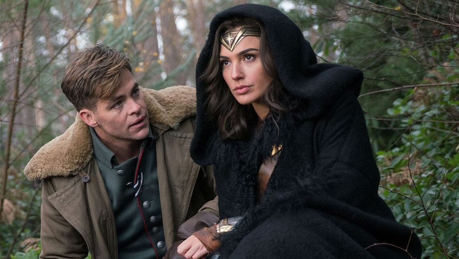 Wonder Woman- Still 1 -Chris Pine  and Gal Gadot- Publicity-H 2017