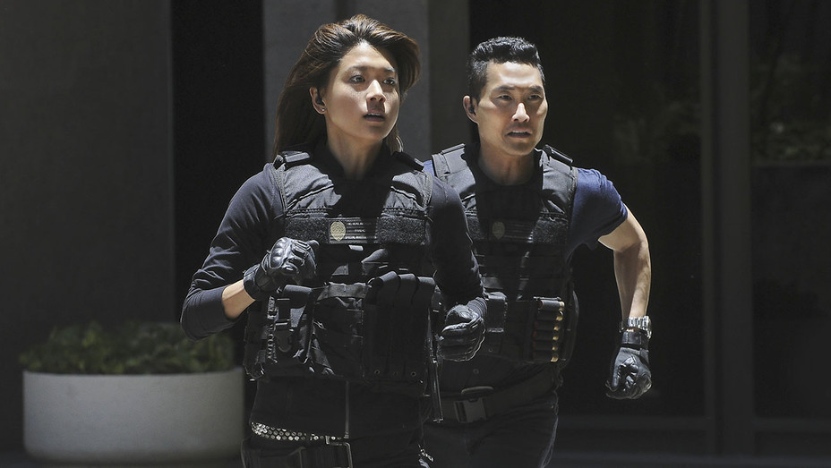 HAWAII FIVE-0 - Daniel Dae Kim and Grace Park -Publicity-H 2017