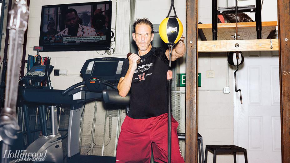 Boxing and Brazilian Jiu Jitsu: -Aggro-Peter Berg-Photographed by Adam Amengual-H 2017
