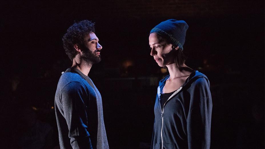 ANIMAL -Production Still 1-Morgan Spector and Rebecca Hall- H 2017