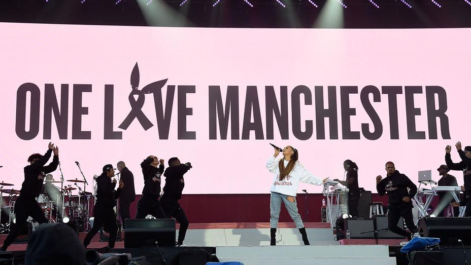 Ariana Grande Manchester benefit - Getty - H