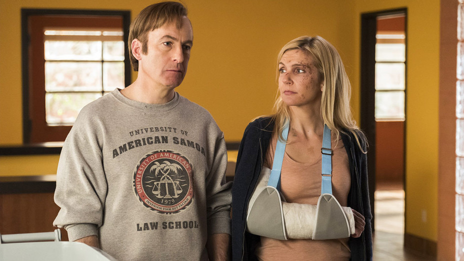 Better Call Saul Still Season 3 Episode 10 Bob Odenkirk and Rhea Seehorn - Publicity - H 2017