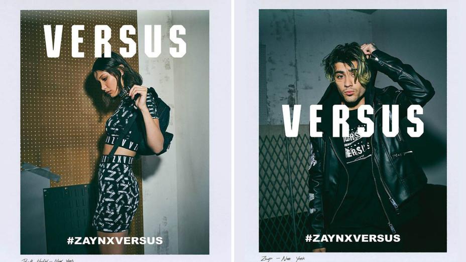 Instagram - Bella Hadid Zayn Malik Versus Campaign - Split - Screenshot - H 2017
