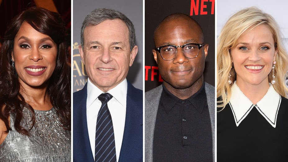 Channing Dungey, Bob Iger, Barry Jenkins and Reese Witherspoon_Split - Getty - H 2017