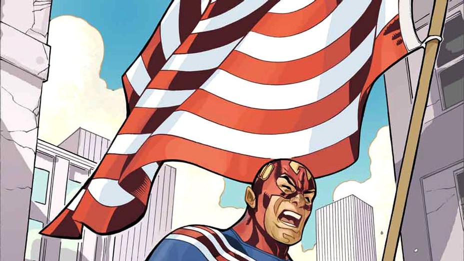 Fighting American cover -  Terry Dodson/Titan Comics -P 2017