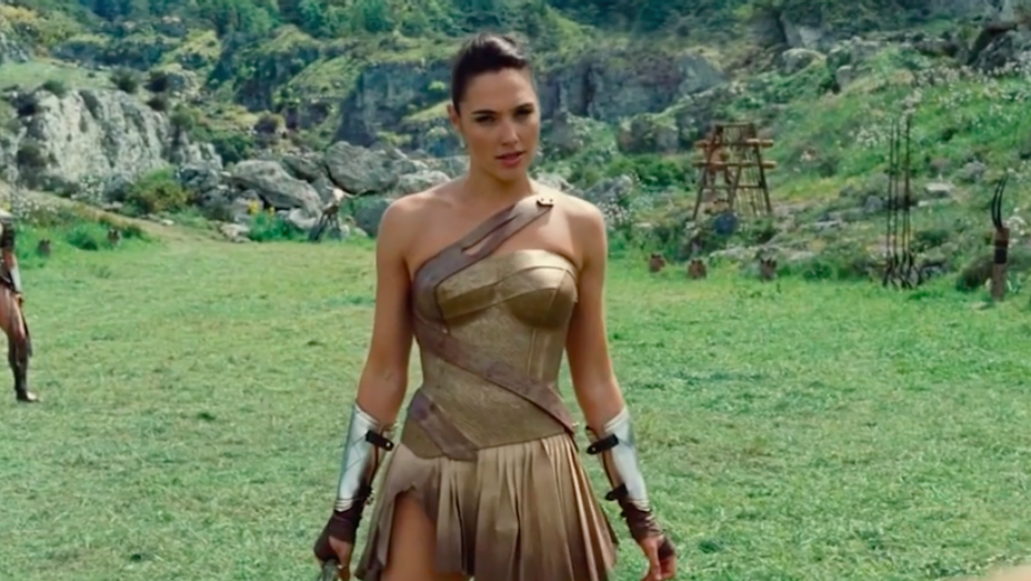 Gal Gadot - Wonder Woman Super Trailer Compilation Still - H 2017