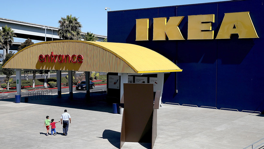 Customers enter an IKEA - Emeryville, California - Getty-H 2017