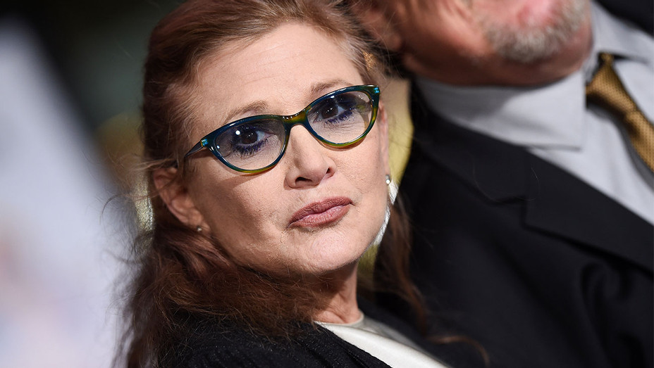 Carrie Fisher Dumb and Dumber To Los Angeles Premiere - Getty - H 2017