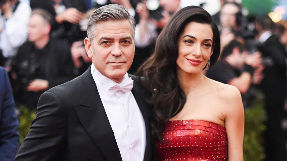 George Clooney and Amal - Met Gala 2015 - Getty - H 2017