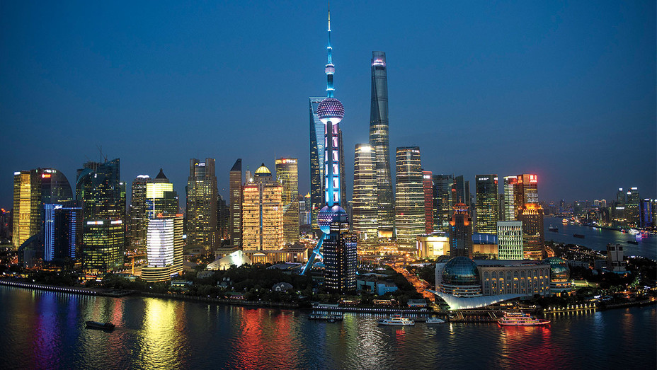 Lujiazui Financial District Shanghai Skyline - One Time Use Only - Getty - H 2017