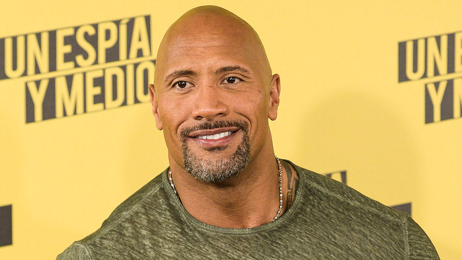 Dwayne Johnson - Un Espia y Medio Madrid Photocall - Getty - H 2017