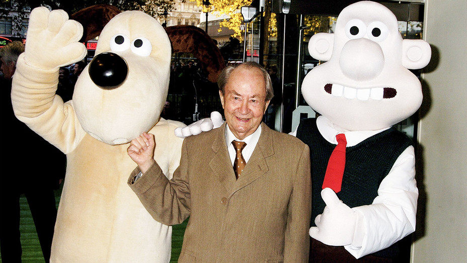 Peter Sallis - 2005 Wallace & Gromit The Curse of the Were-Rabbit Premiere - Getty - H 2017
