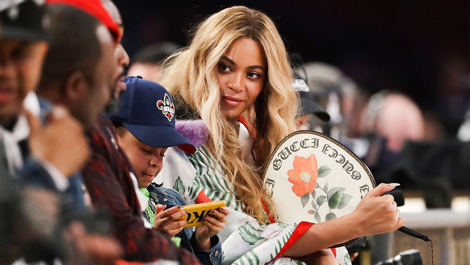 Beyonce - NBA All-Star Game Smoothie King Center - Getty - H 2017