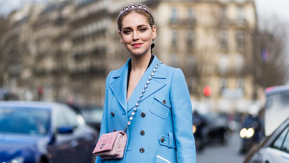 Chiara Ferragni Street Style Paris Fashion Week Day Eight - Getty - H 2017