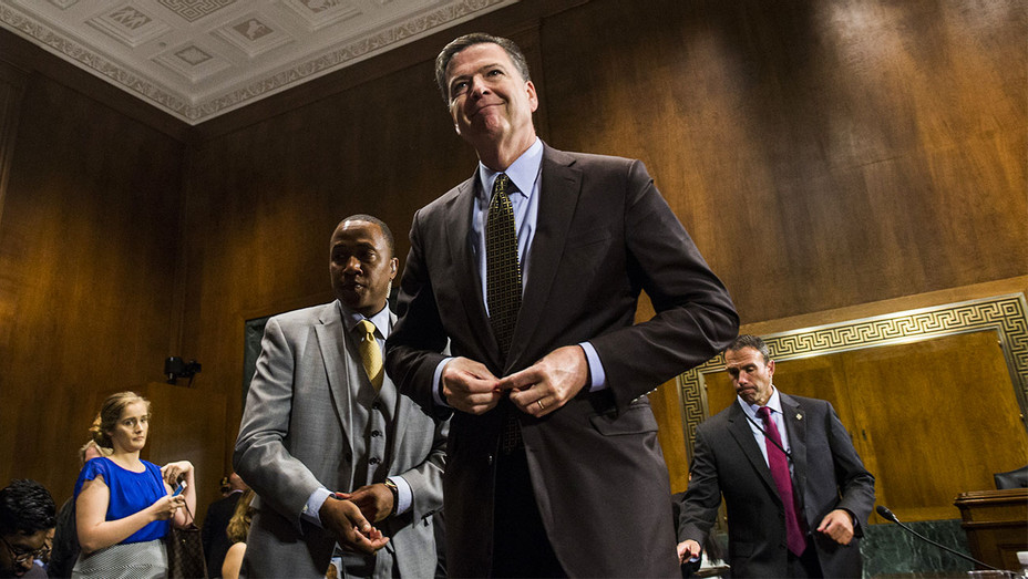 James Comey Testifying 2 - Getty - H 2017