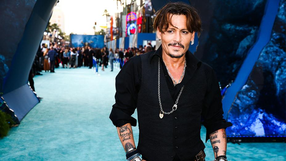Johnny Depp - Pirates of the Caribbean: Dead Men Premiere 2 - Getty - H 2017