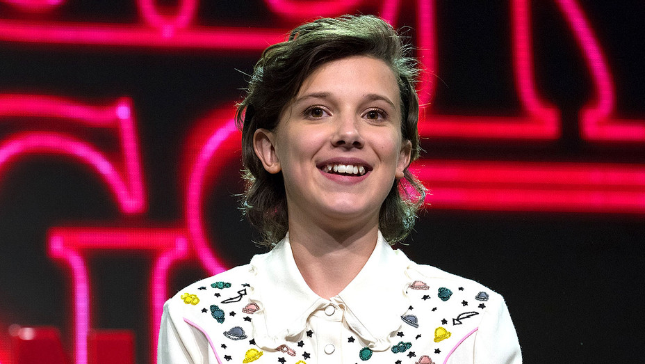 Millie Bobby Brown attends the Argentina Comic Con -Getty-H 2017