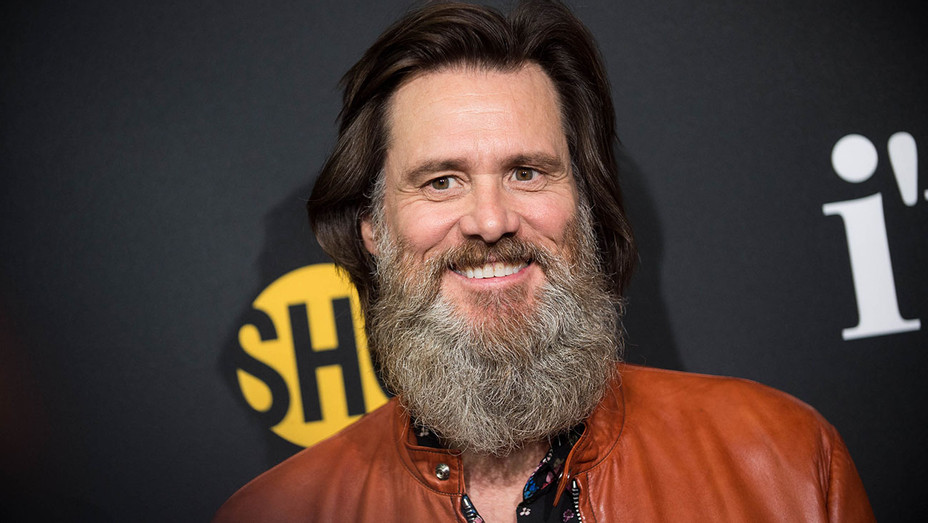 Jim Carrey - premiere of I'm Dying Up Here - Getty-H 2017
